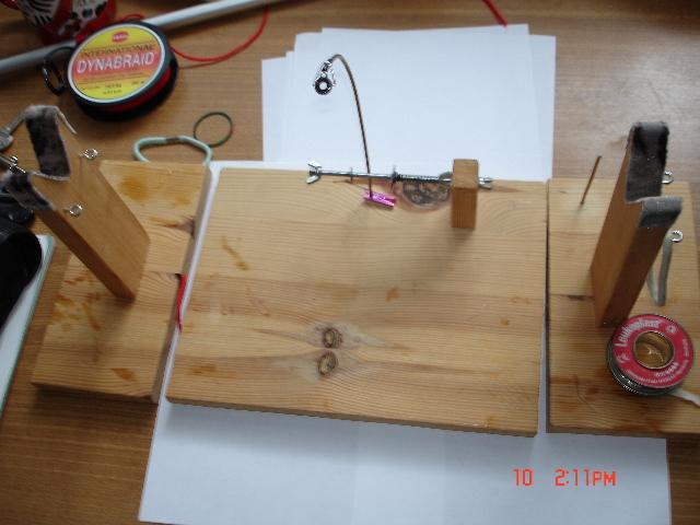 Стапель для намотки нитей на бланк своими руками